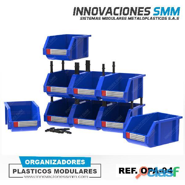 Organizadores Cajas Gavetas Plasticas Tornilleros Abierto REF. OPA 04