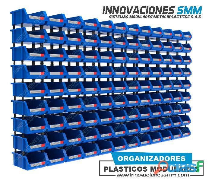 Organizadores Cajas Gavetas Plasticas Tornilleros Abierto REF. OPA 07 1