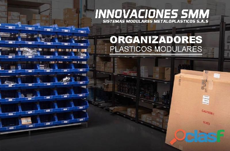 Organizadores Cajas Gavetas Plasticas Tornilleros Abierto REF. OPA 07 2
