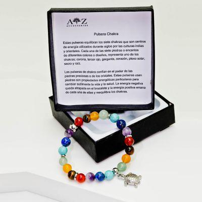 Az accessories pulsera piedra natural chakra az accesorios
