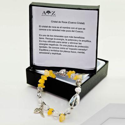 Az accessories pulsera mujer cristal de roca az accesorios