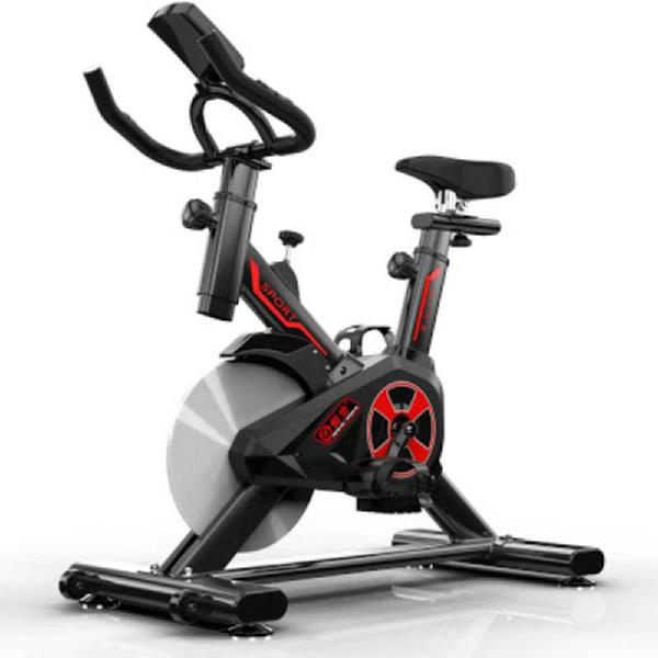 Bicicleta spinning con monitor frecuencia cardiaca 1