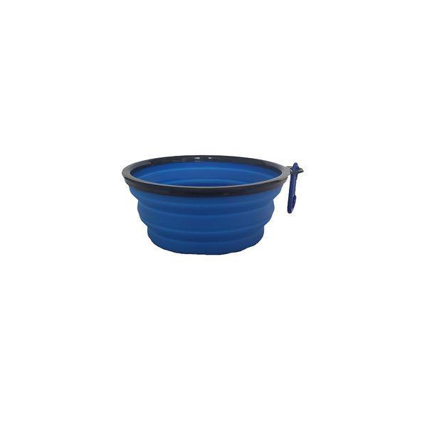 Bowl en silicona grande 17.5cm azul