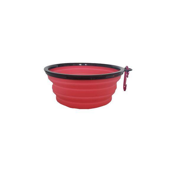 Bowl en silicona grande 17.5cm rosado
