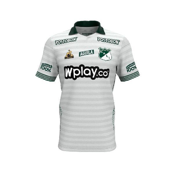Camiseta deportivo cali oficial competencia 2021 blanca