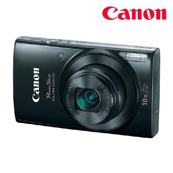 Cámara fotográfica canon compacta elph190 is negro