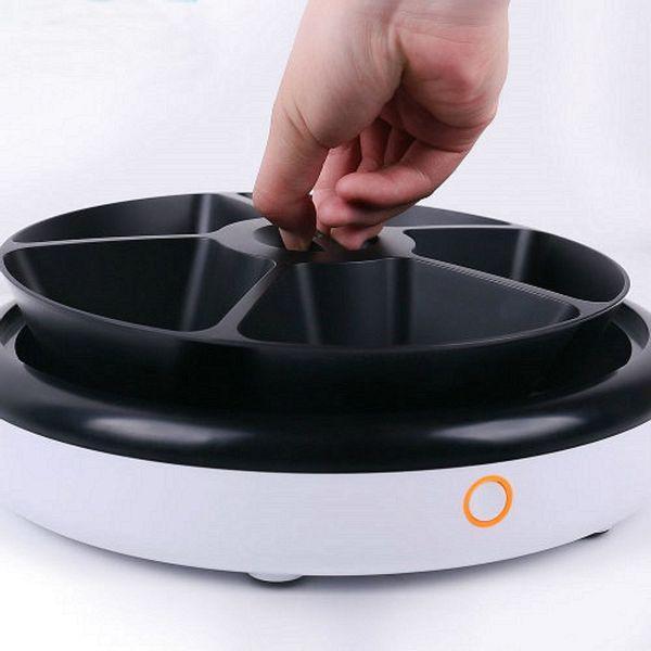 Dispensador automático de alimentos 5 comidas petwant