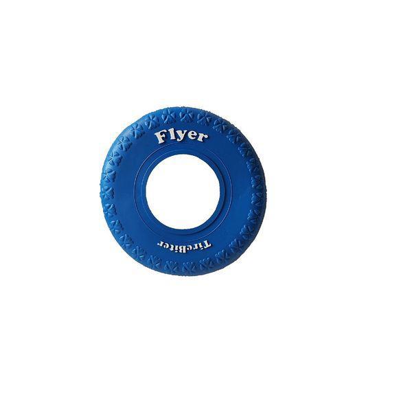 Frisbee para perro azul