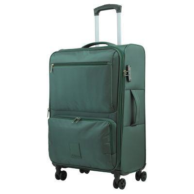 Lugano maleta de viaje mediana blanda lugano chick chack