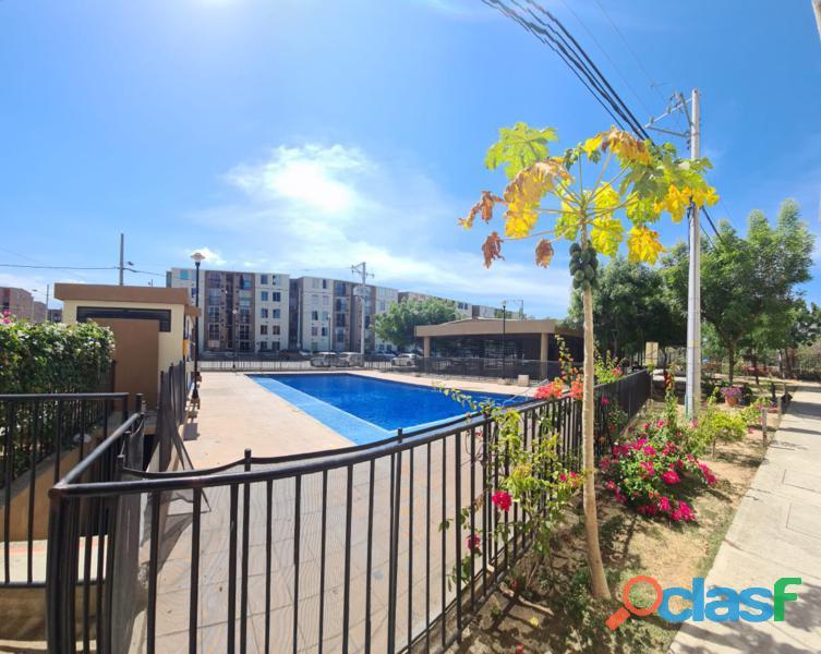 Apartamento con Piscina en Santa Marta