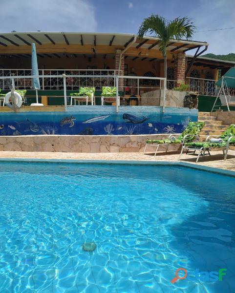 Casa Hotel en Taganga, Santa Marta