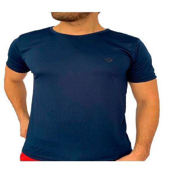 Camiseta deportiva fast dry azul oscura manpotsherd