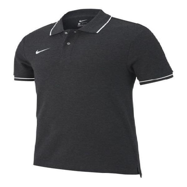 Camiseta polo nike team club 19 - negro-negro-gris