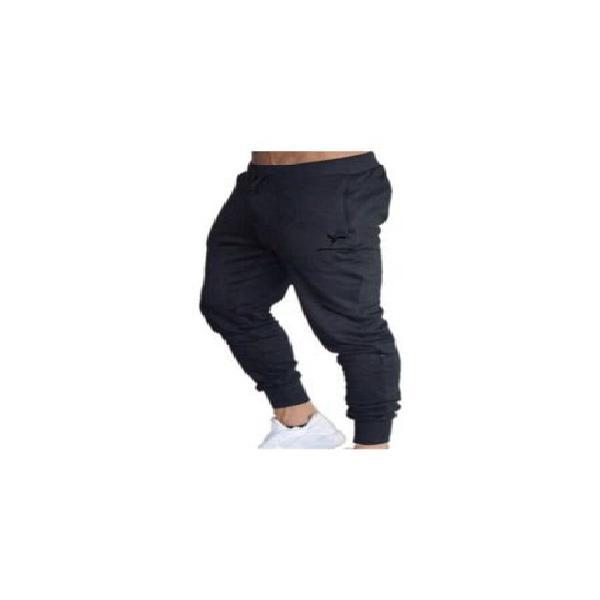 Pantalón deportivo hombres ajustado 12039 negro