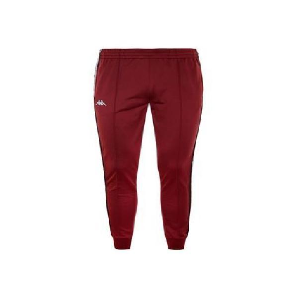 Pantalon para hombre 222 banda rastoria slim kappa rojo