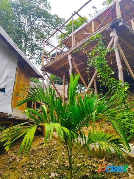 Exclusiva y fantastica finca hotel en el parque tayrona, colombia
