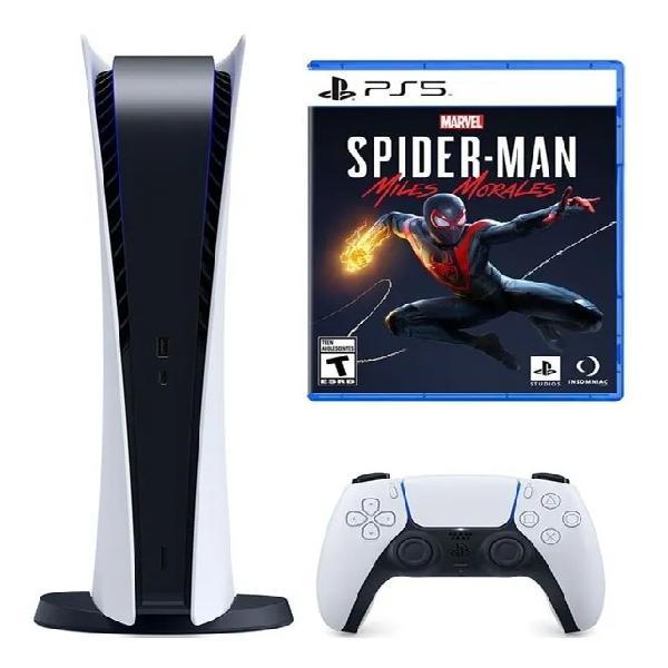 Consola playstation 5 edicion disco ps5 + juego spiderman