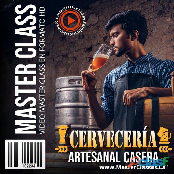 MASTERCLASS: CURSO DE CERVECERÍA ARTESANAL