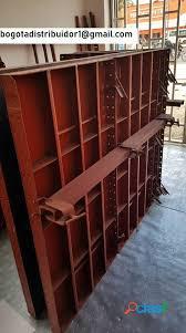 formaleta metálica o encofrado metálico para muro y columna.