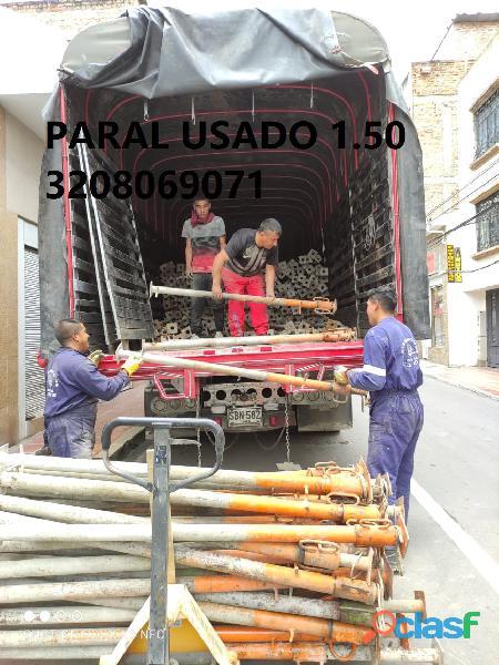 TACOS O PARAL METALICO DE 2MT  1.50MT NUEVO Y USADO 3