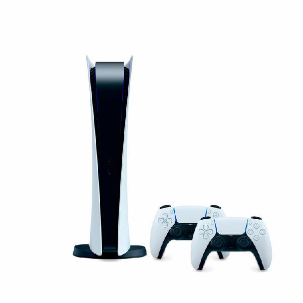 Consola playstation ps5 digital 825gb + 2 controles