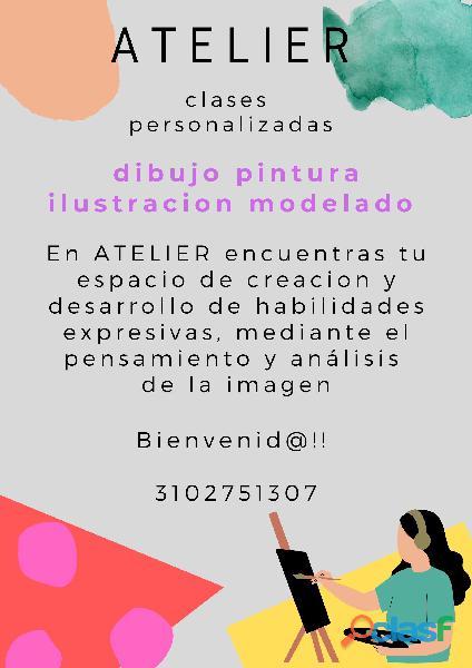 Clases de dibujo, pintura e ilustración