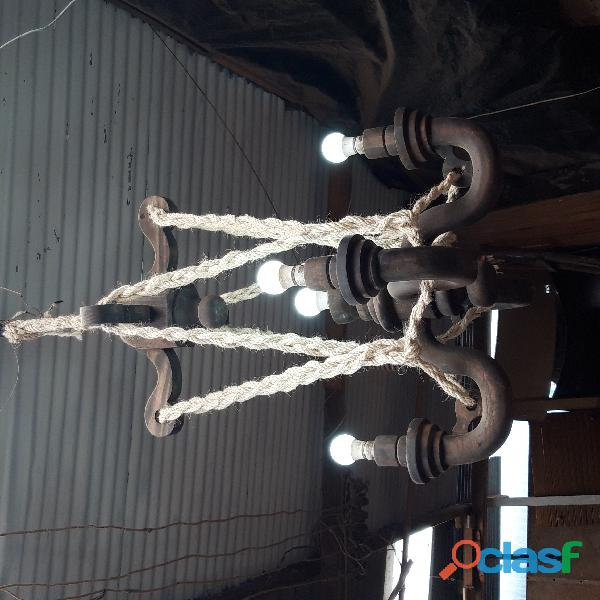 Lámparas artesanales