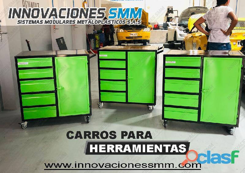 carros para herramientas 6 gabinetes tipo A