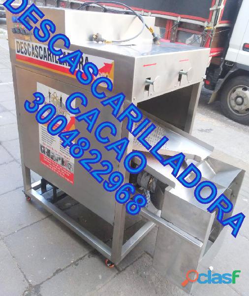 EMPACADORA AL VACIO, DESCASCARADORA DE CACAO, TOSTADORA INDUSTRIAL