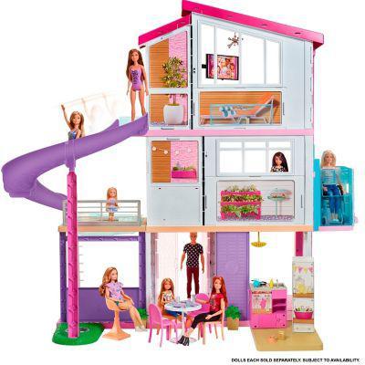 Barbie barbie mega casa de los sueños