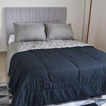 Edredón doble faz cama doble 140x190 hogareto