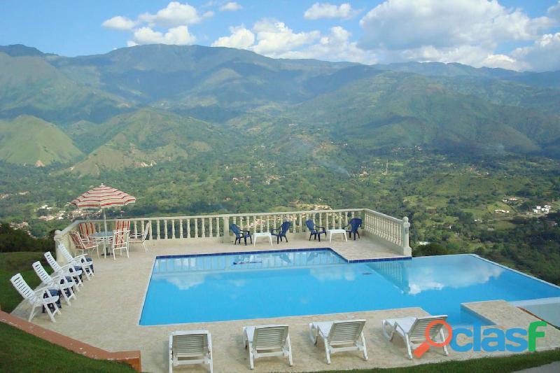 Ambiente Familiar la mejor vista del Cañon del Chicamocha