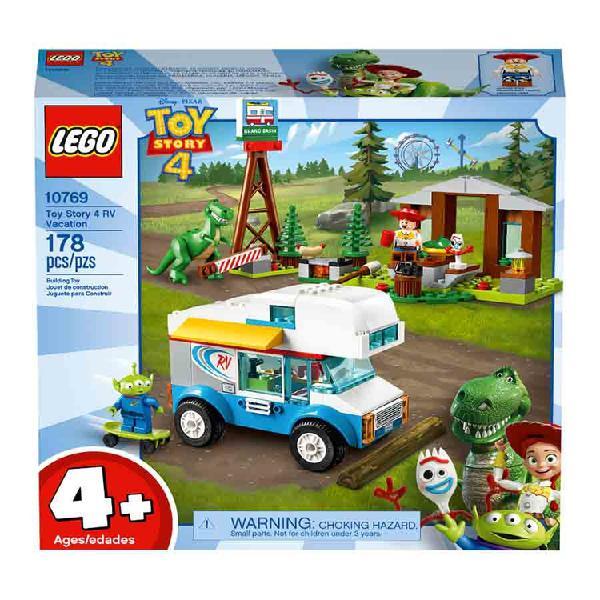 LEGO® Jr. Toy Story 4 - Vacaciones en Auto caravana