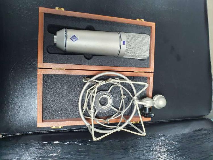 Microfono Neumann U87 Ai Set Z & Soporte De Choque Para
