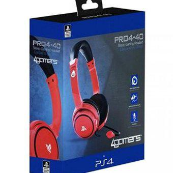 Auriculares Stereo Headset SONY PRO4 40 Rojo