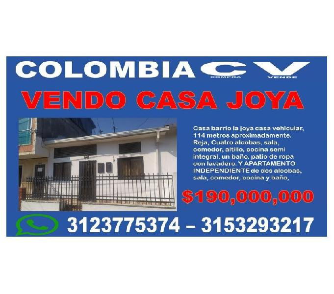 Casa en la joya bucaramanga cerca a la cancha
