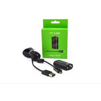 Kit Carga Y Juega Xbox One One S One X 1400mah