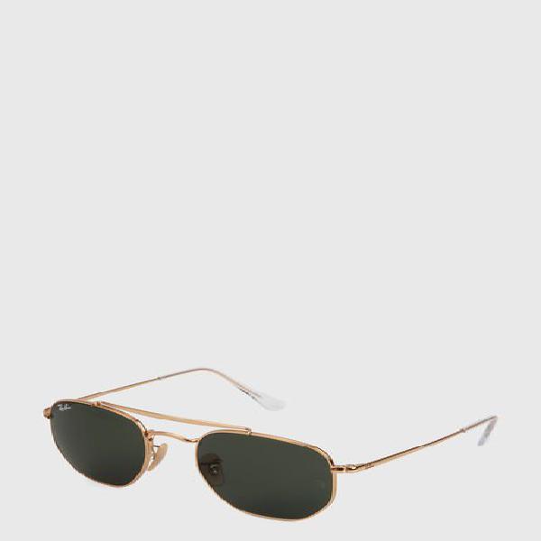 Gafas doradas-azules ray ban rb3648