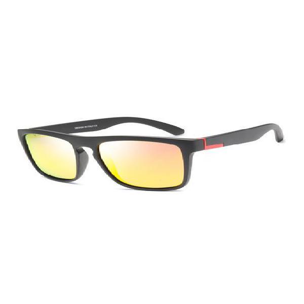 Gafas sol polarizadas hombre uv400 deportivas d731 c7 rojo