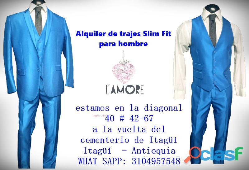*  Alquiler de trajes SLIM elegantes y económicos para hombres en Itagüí 111 1