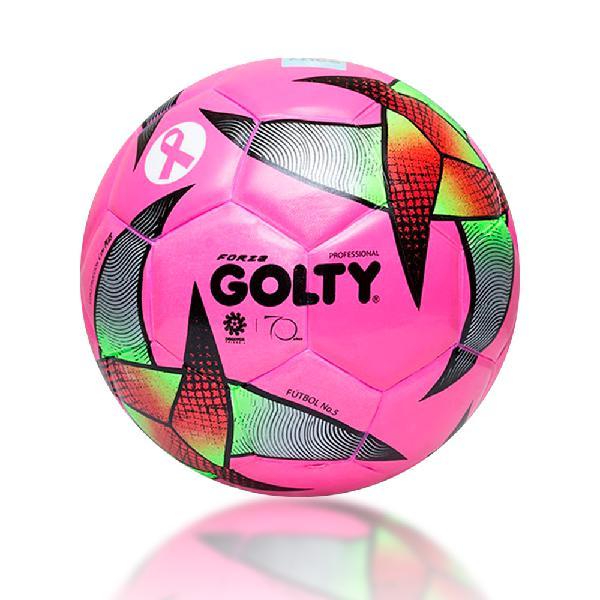 Balón Fútbol Golty Forza Profesional #5 Rosa Edicion