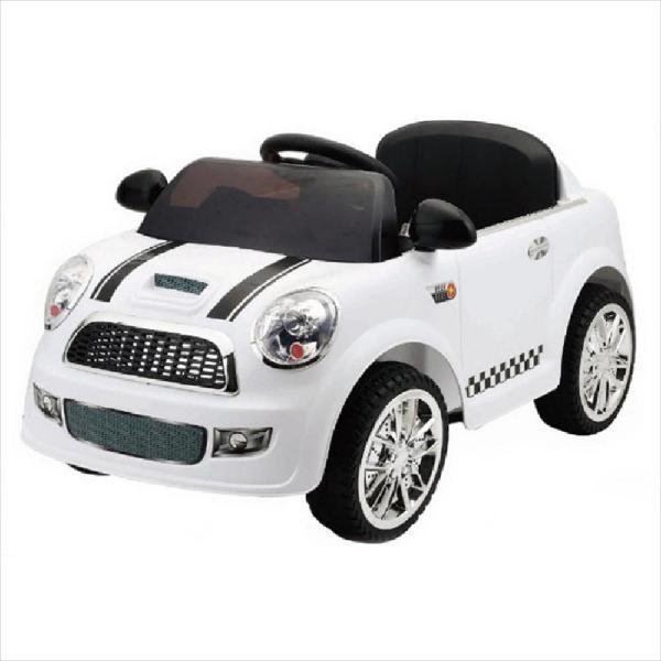 Carro eléctrico batería estilo mini cooper niños div