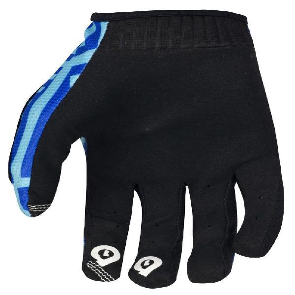 Guantes De Color Azul Y Negro Talla Xl