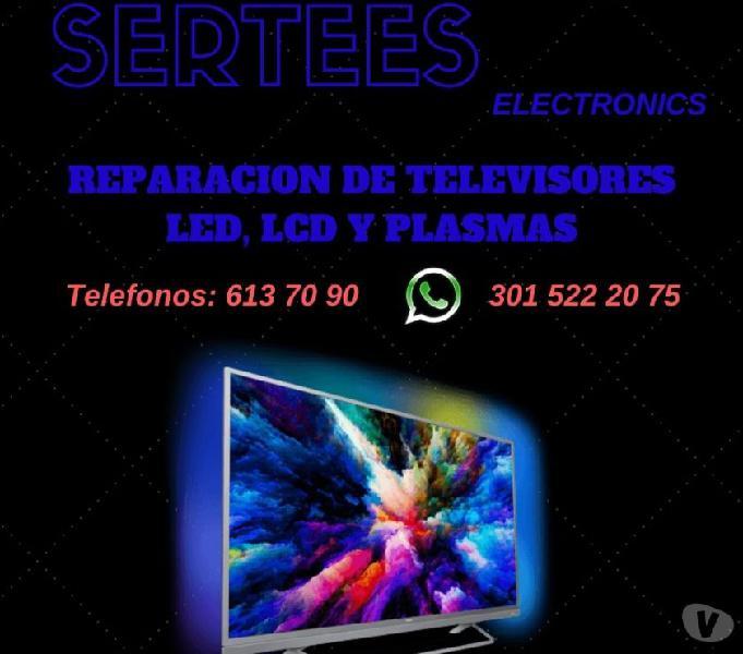 Reparacion de Televisores LCD LED y PLASMAS en Medellin