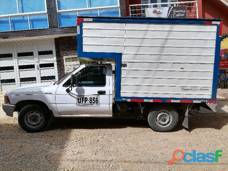 Alquiler de camioneta furgon Tunja