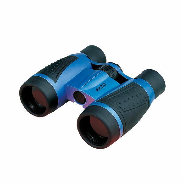 Binoculares jumelles potencia 4x30 azul/negroteleciencia