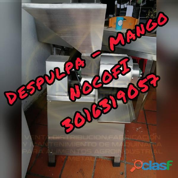 DESPULPADORA DE FRUTA DE 200 KILOS POR HORA