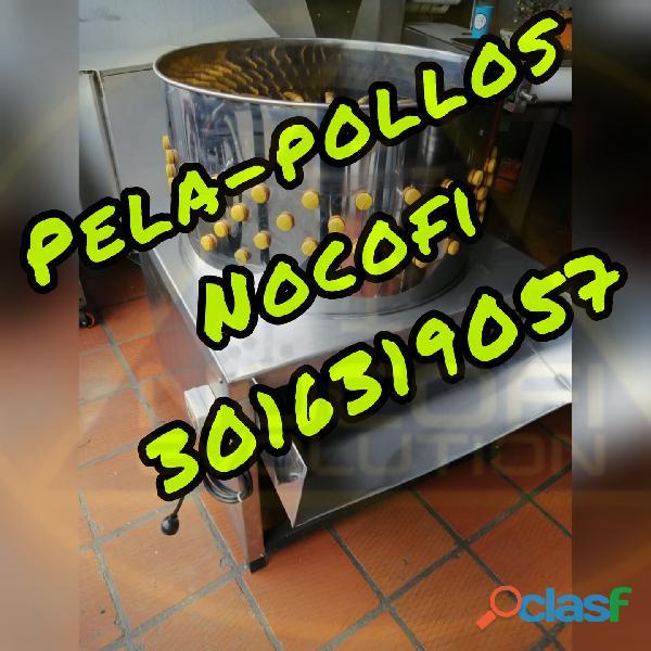 PELADORA DESPLUPADORA DE PLUMAS DE POLLOS