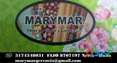 Taller y Enseñanza MARYMAR, Diseño y Confección
