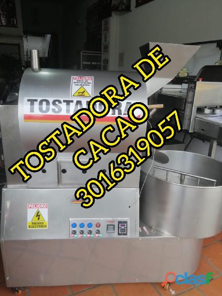 TOSTADORA INDUSTRIAL DE CACAO Y CAFE